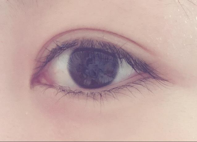 ちなみにこれが、何もしてないガチすっぴんの目です