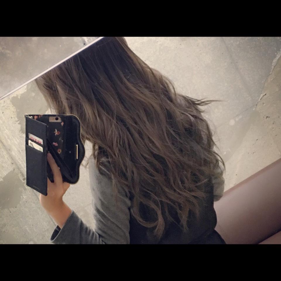 外国人風巻き髪