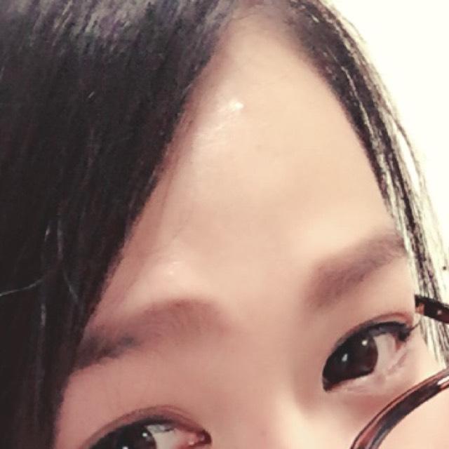 眉毛は太めにパウダーとペンシルをつかって書いてください(  ˊᵕˋ  )