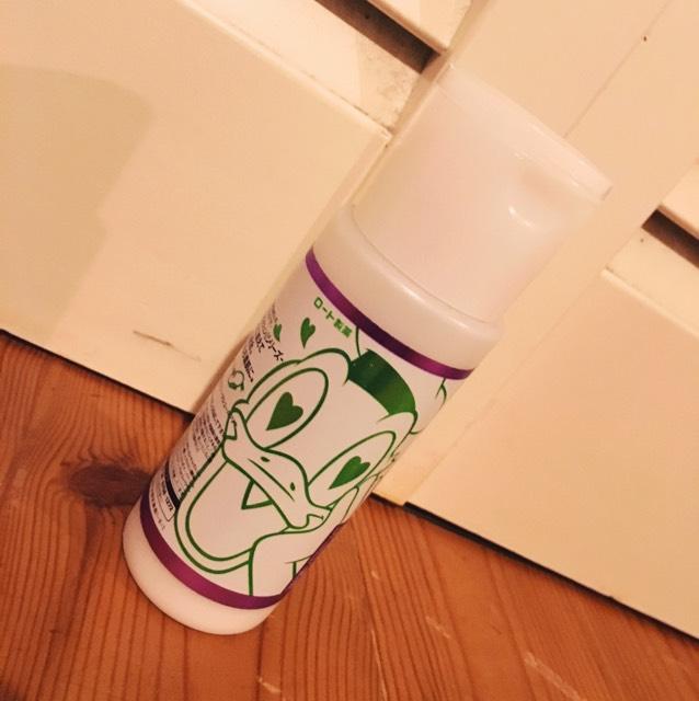 その次に化粧水が蒸発しないように乳液で毛穴にフタをしめます