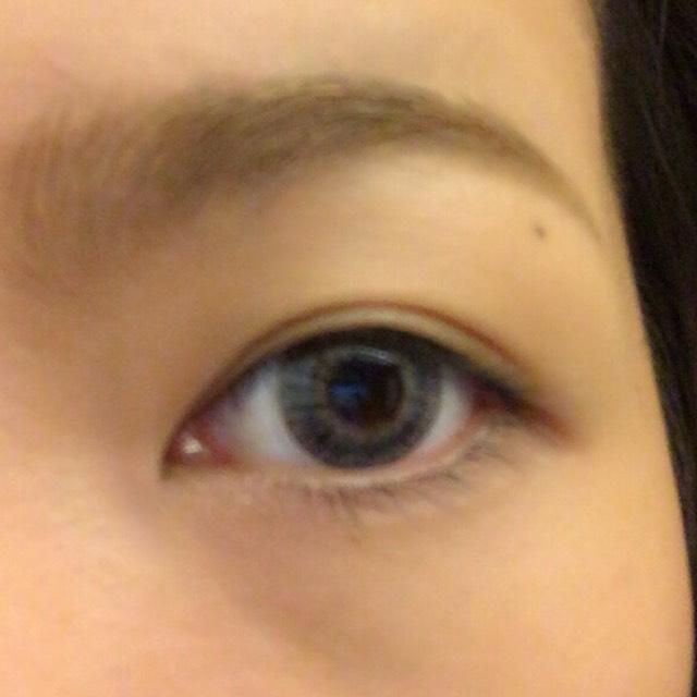 ✧ハーフつり目メイクのBefore画像