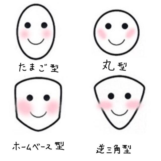 顔の形に合わせてチークを入れてください︎︎︎︎☺︎