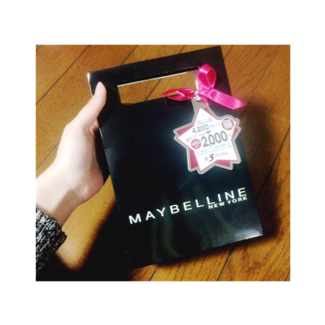 2016  Maybelline福袋のBefore画像