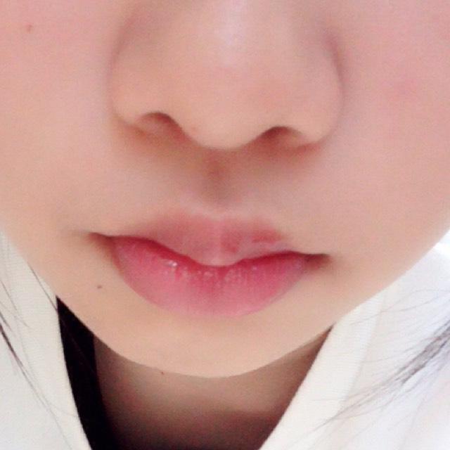 唇の血色を良くする唇メイクのAfter画像