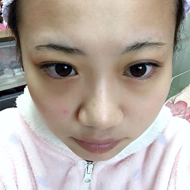 有村架純ちゃん風ピンクMAKEのBefore画像