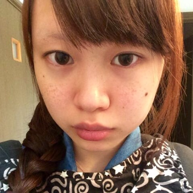 猫タレ目♡のBefore画像