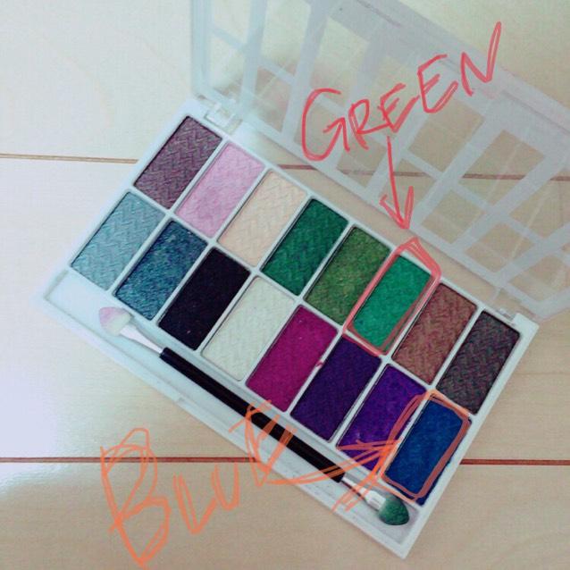 緑と青はそれぞれこの色を使いました!!