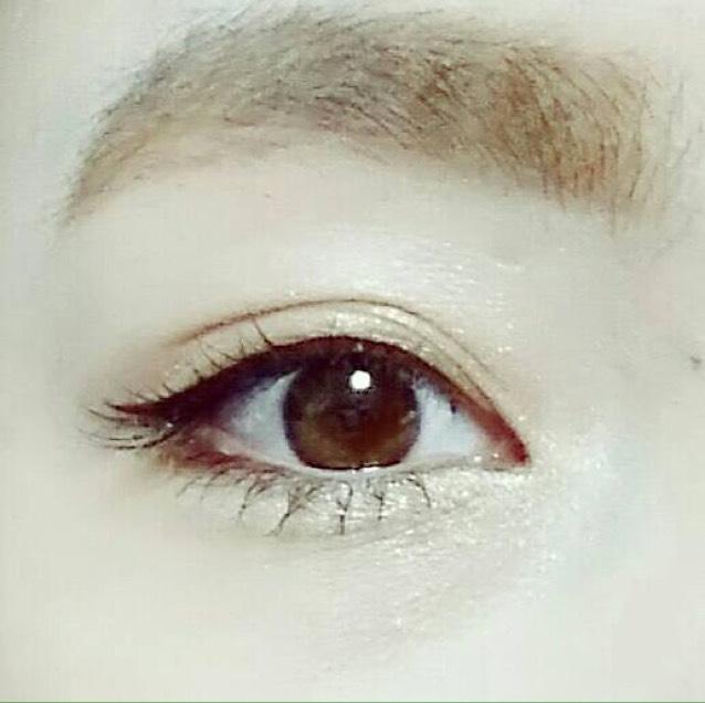 裸眼でティパニ風なメイク♪のAfter画像