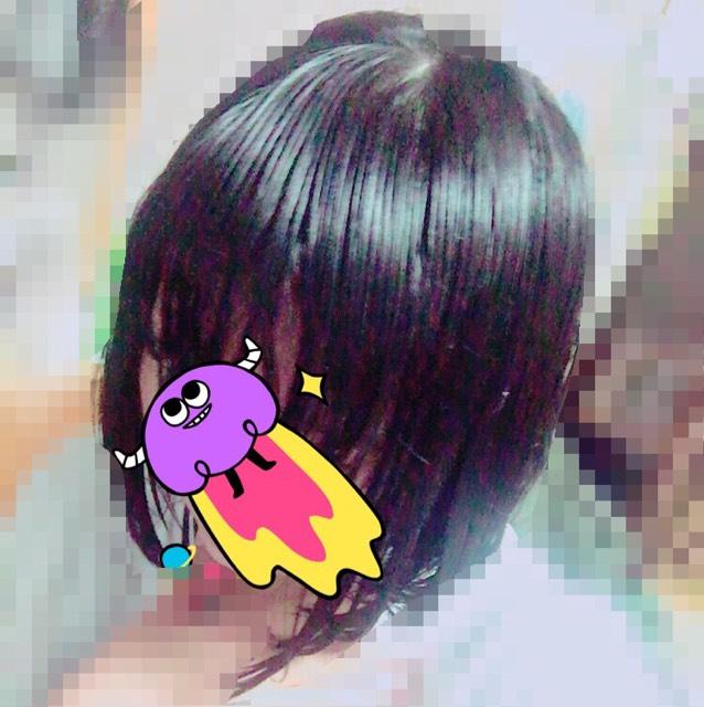 初投稿。メイクじゃないけど、髪の毛の守り方のBefore画像