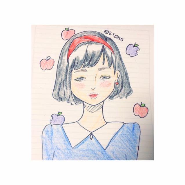白雪姫メイクのAfter画像