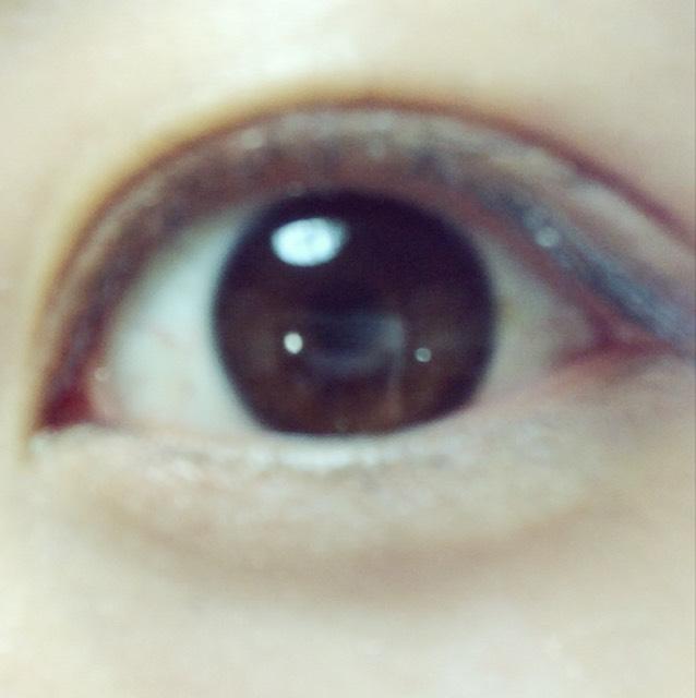 裸眼でも大人っぽく。のBefore画像