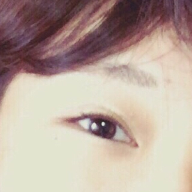 安い化粧品でブラウンメイク♡♡のBefore画像