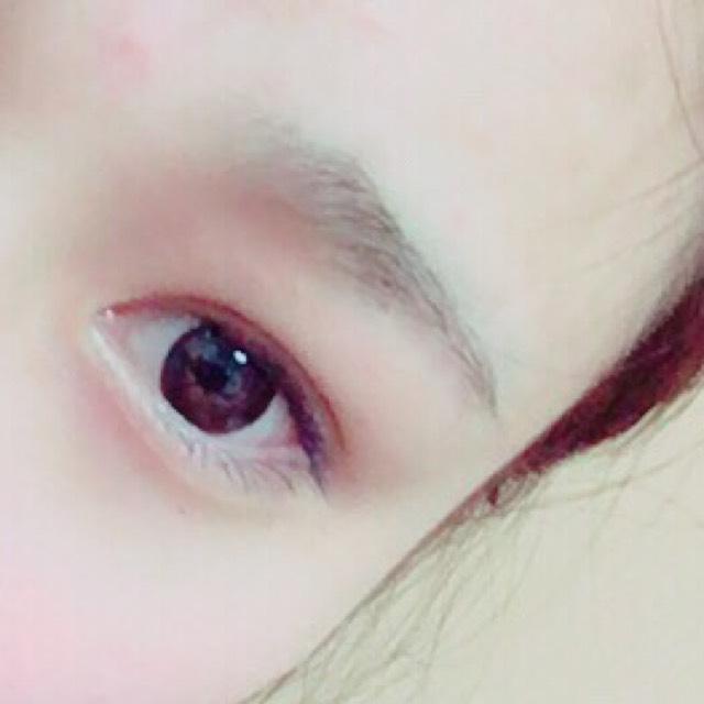 まっすぐ眉の描き方のBefore画像