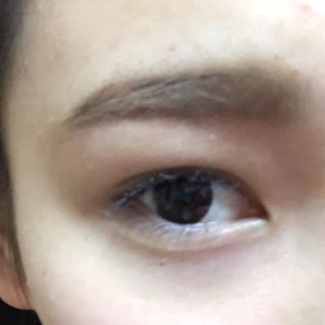 まっすぐ眉の描き方のAfter画像