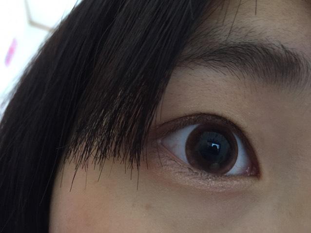 フチの周りが少しお花みたいになっていて不自然過ぎない自然な瞳になれましたଘ(੭ˊ꒳ˋ)੭✧