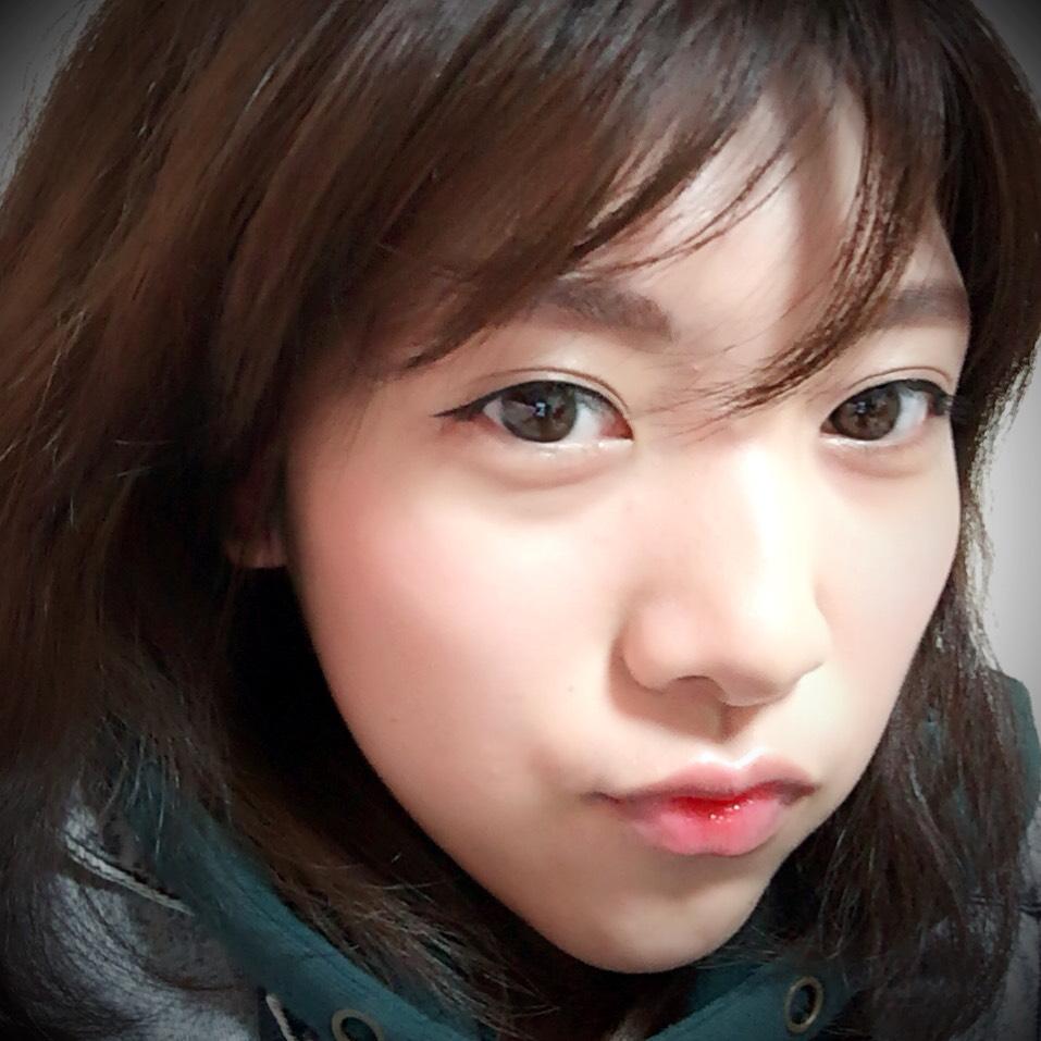 韓国おるちゃん風メイク。