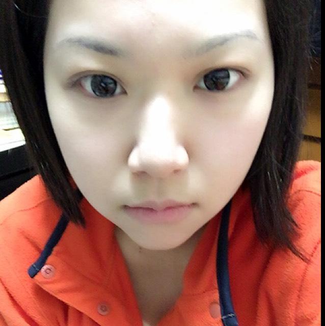 いつものお化粧( *ˊᵕˋ)のBefore画像