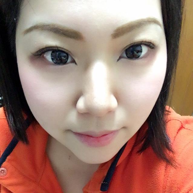 いつものお化粧( *ˊᵕˋ)のAfter画像