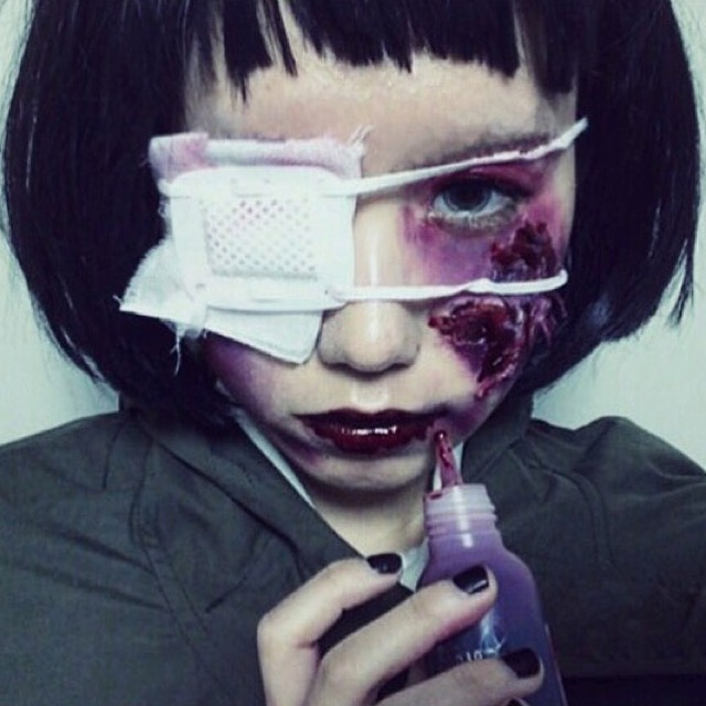 危険な眼帯