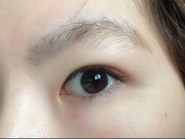 うるうる目の作り方のBefore画像