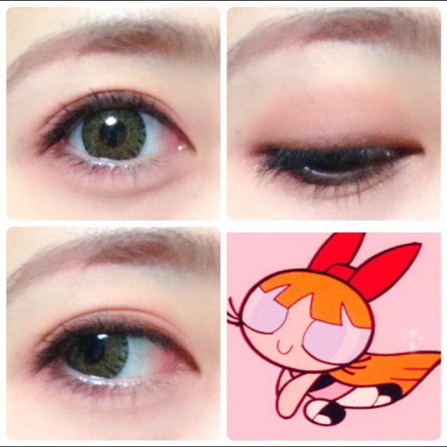 ふんわりピンクうる目