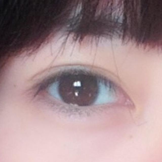 ふんわりピンクうる目のBefore画像