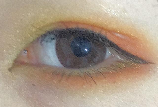 【カラーメイク】イエロー×オレンジのAfter画像