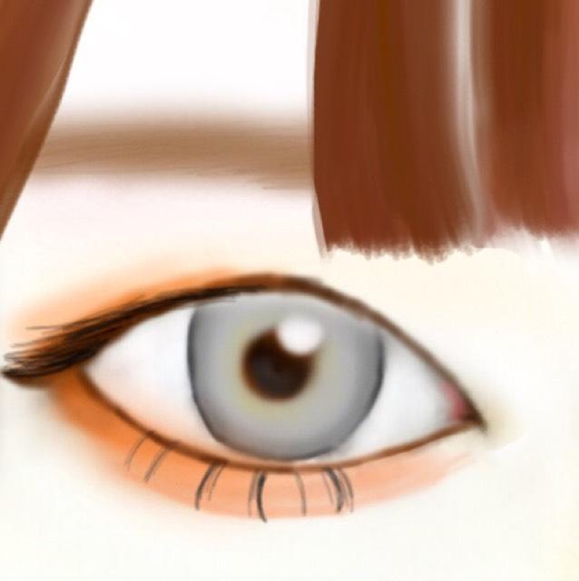 Up&DownのPVのときのハニちゃんメイク完成!!前髪をぱっつんにしてシースルーにすると尚いいと思います!