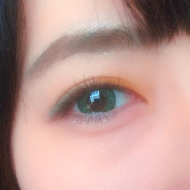 ダークブラウンヘアでも似合うカラーメイク☆のAfter画像
