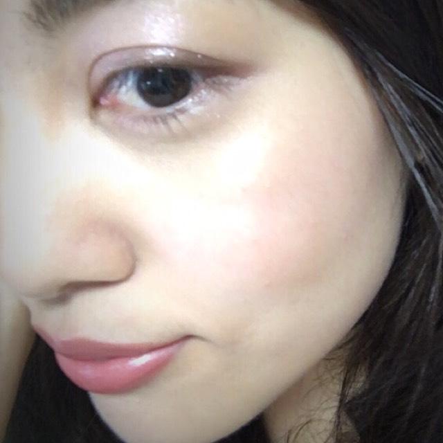 あとはマスカラをオンし、唇にはコスデコのオレンジリップOR251を塗って完成。