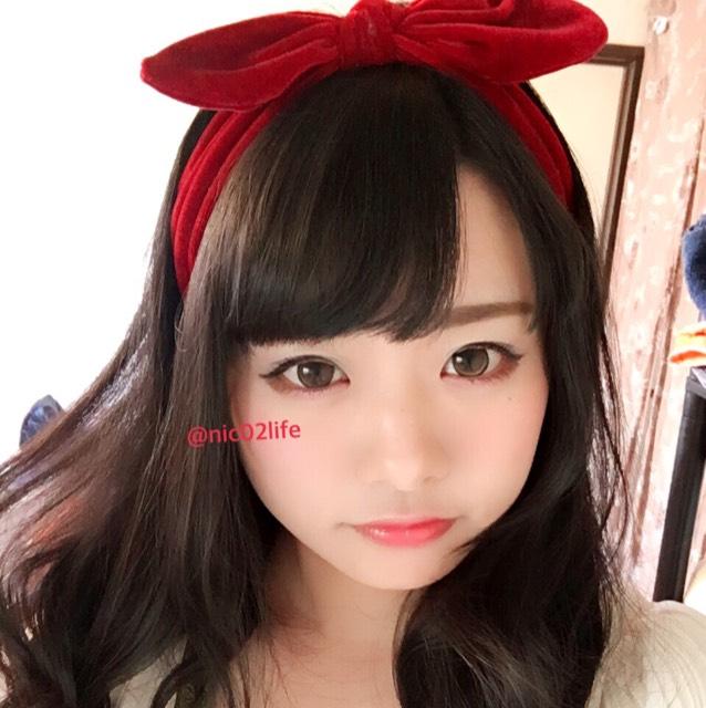 白雪姫風メイクのAfter画像