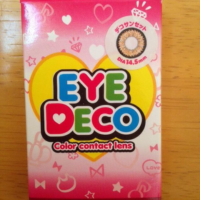 今回紹介するのは、 EYE DECO ファーストシリーズ ジュピターマンスリー デコサンセット 14.5mm です!