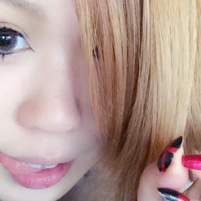 さよなら団子鼻&カラコン大きめメイクのBefore画像
