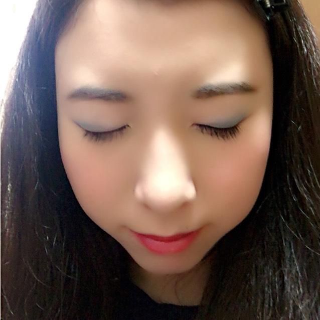 自己流白雪姫メイクのAfter画像