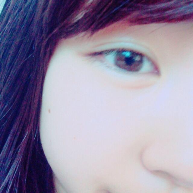 モテ顔メイクのBefore画像
