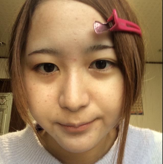 no前髪のBefore画像