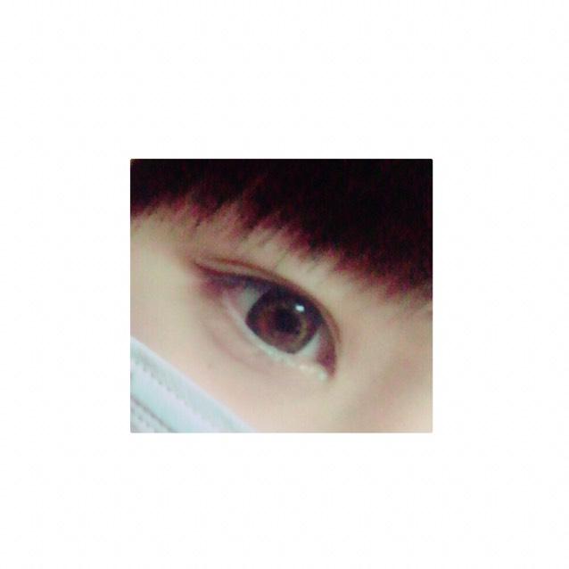 natural eye make ❁のAfter画像