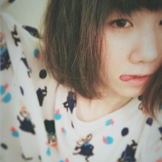 クーピーマスカラ新色♡レモンイエローのBefore画像