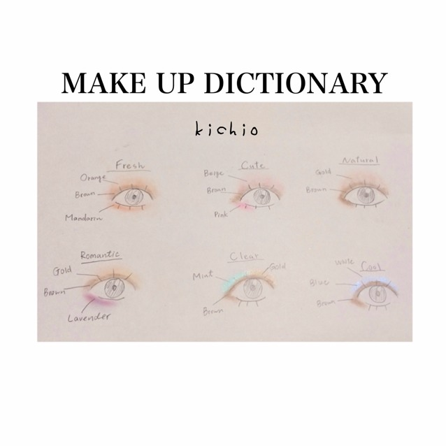 MAKE UP  DICTIONARY