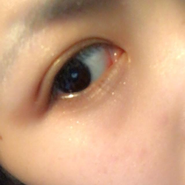 涙袋に④⑤,目尻側を⑦, ⑥で涙袋に影を作り目頭に①をのせます
