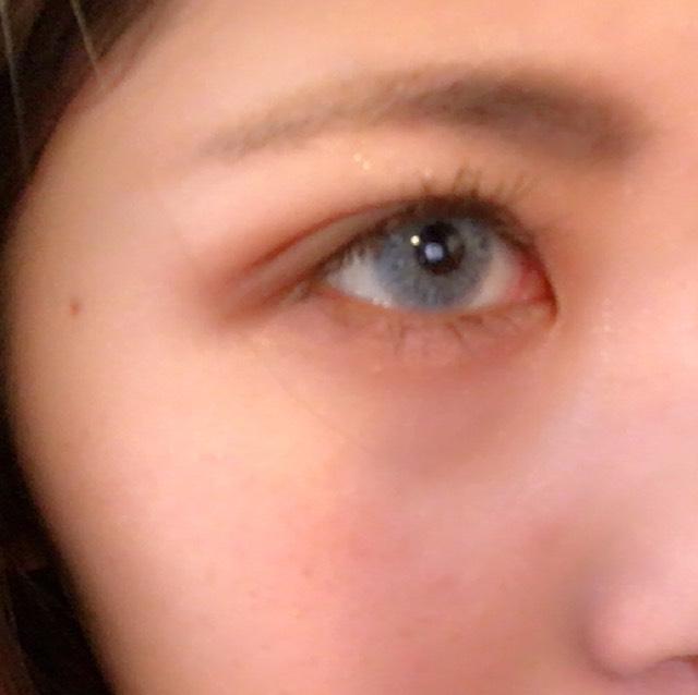 ③を眉に塗った後、④で眉尻の形を描き、⑤で眉頭皮を整えます