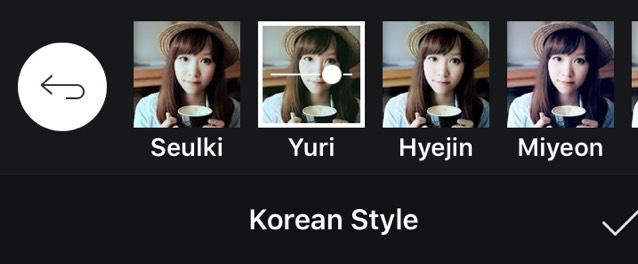 yuriを選択