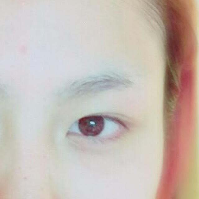 綺麗め眉毛の描き方!のBefore画像