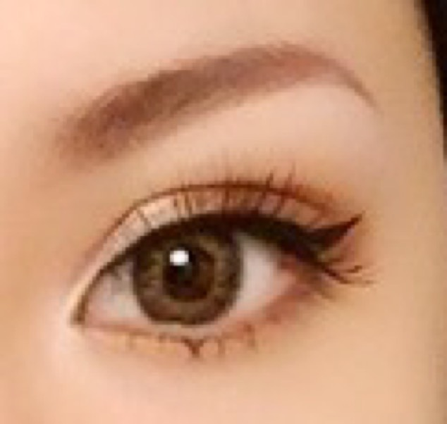 純日本人からハーフの目のAfter画像