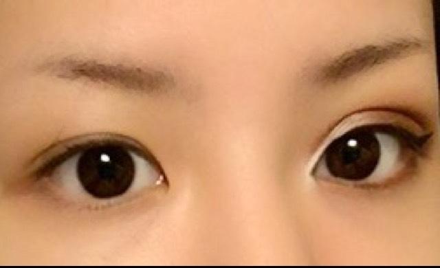 純日本人からハーフの目