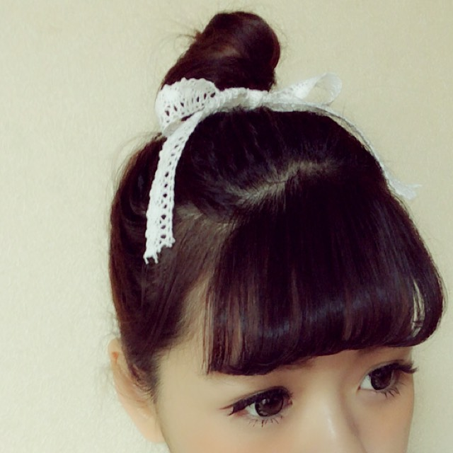 お団子hair ♡