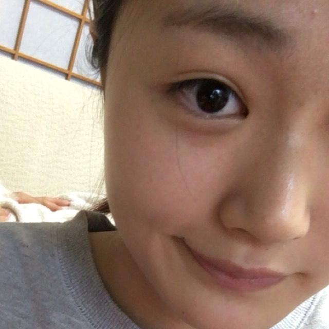 春色ピンク裸眼メイク♡のBefore画像