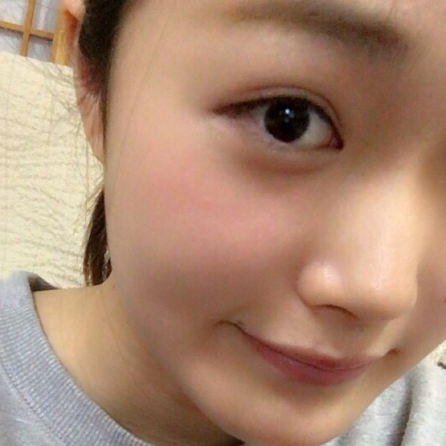 春色ピンク裸眼メイク♡