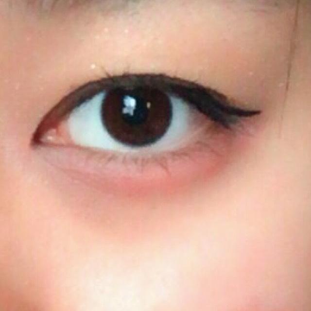 春の目メイクのAfter画像