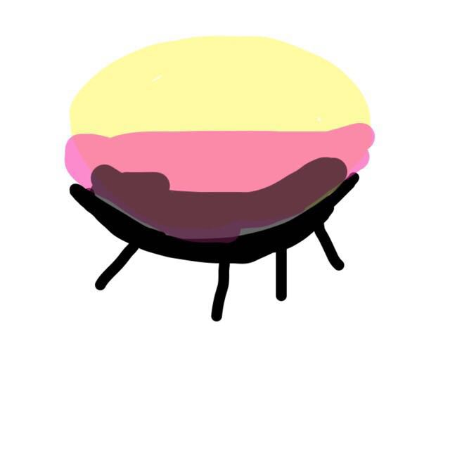 黄色のところはアイボリーカラーだと思ってください(>_<) アイボリーをアイホール全体に塗り、二重幅をピンクで塗り、目のキワからラインを引くようにしてブラウンを入れます。 ブラウンは上に向かってぼかします! 涙袋には薄ピンクを塗りぷっくりと仕上げます。ナチュラルにしたいので涙袋の陰はかきません。 アイラインはまつげの隙間を埋めるだけで、まつげはビューラーでカールしたあとマスカラを塗ります。